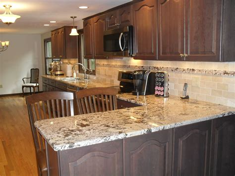 Kitchen Countertops Syracuse Ny by Granite Tiles Were Used As An Accent To Tie The New