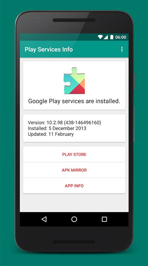 Play Store Without Play Services Play Services Info Android Apps On Play