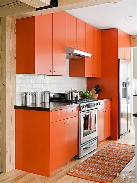 orange kitchen cabinets 80 cool kitchen cabinet paint color ideas noted list