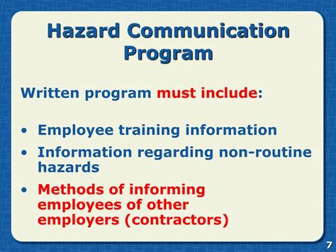 Ppt Hazard Communication Powerpoint Presentation Id 761413 Hazcom Policy Template