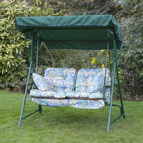 Garden 2 Seater Replacement Swing Seat Hammock Cushion Set