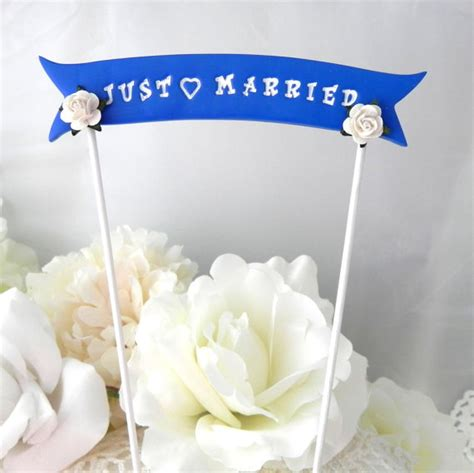Wedding Banner Phrases by Wedding Cake Topper Banner Just Married Custom Phrase