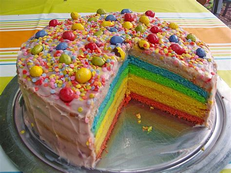 kuchen bunt regenbogen torte 4 1 5