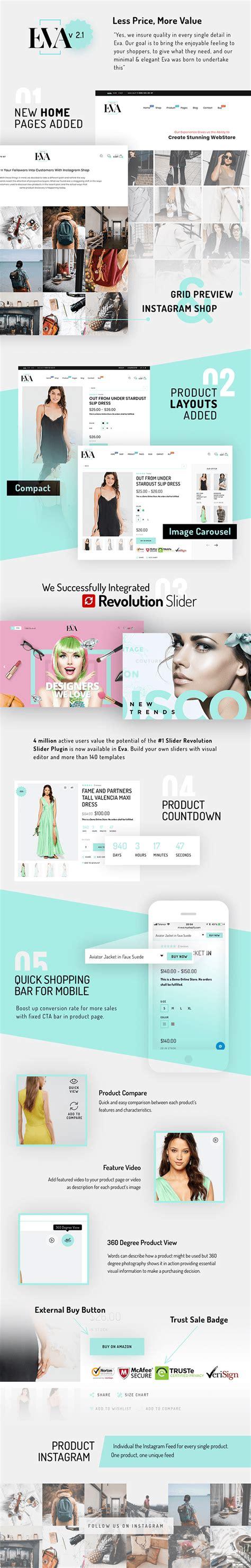 elegant themes shopify eva responsive ecommerce shopify sections theme