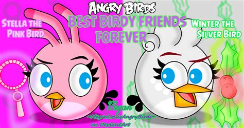 angry birds best angry birds best birdy friends stella and winter by