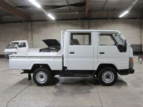 toyota truck diesel 1990 toyota hiace crewcab truck diesel 4wd hi lo 5 speed