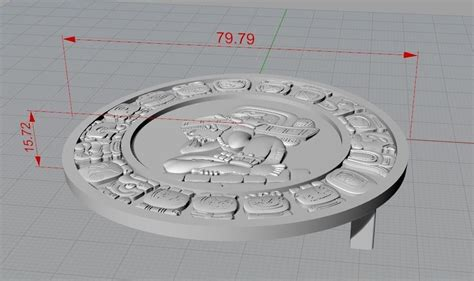 printable job application for buckle mayan belt buckle 3d model 3d printable stl cgtrader com
