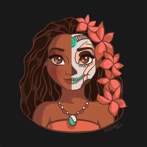 moana sugar skull series by ellador disney pinterest