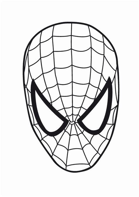 spiderman symbol coloring page spideman outline clipart best