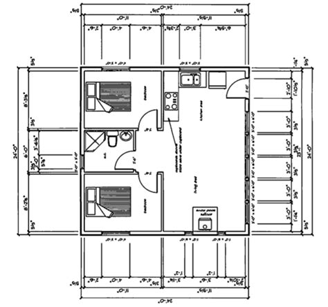 24x24 floor plans cabin 24x24 house plans omahdesigns net