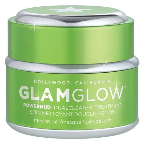 Glamglow Detox Mask by Powermud Dual Cleanser Glamglow Mecca