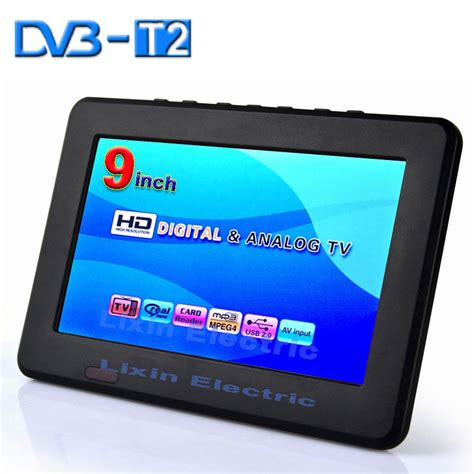 Tv Mobil 9 Inch 2015 new 9 inch dvb t2 dvb t digital and analog mini led hd portable tv all in 1 support usb