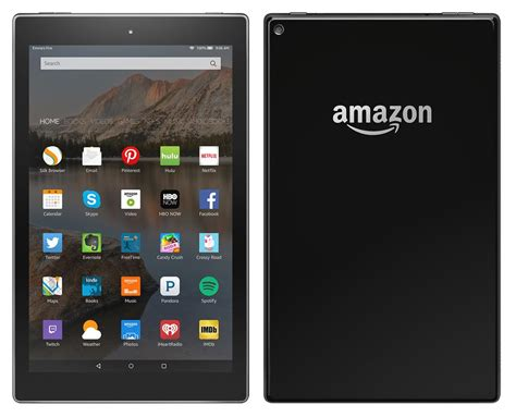amazon kindle fire amazon kindle fire tablet 2015 edition 10 incher leaks
