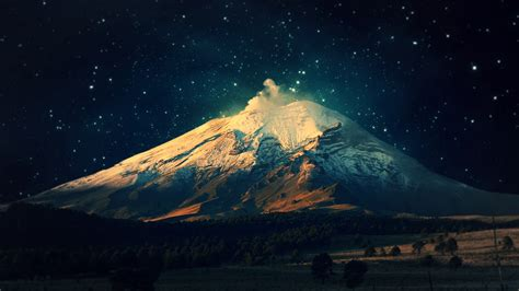 Starry Night Wallpaper For Mac | night mountain wallpaper 882898