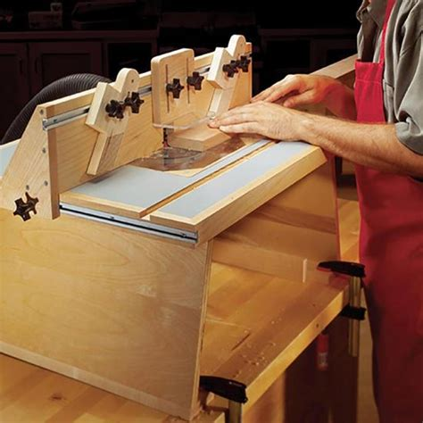 benchtop router table wood magazine