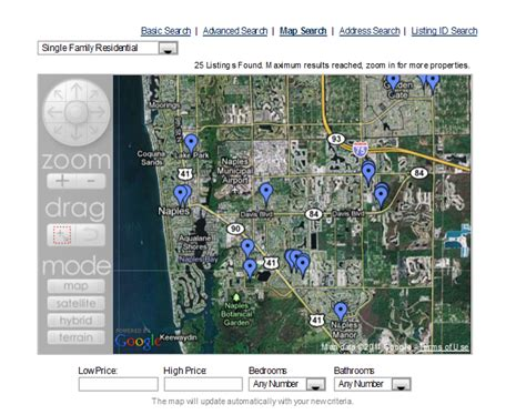 Records Property Florida Naples Florida Real Estate Advanced Property Search