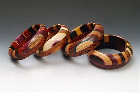 wood bracelet ooom bracelet by martha collins wood bracelet artful home