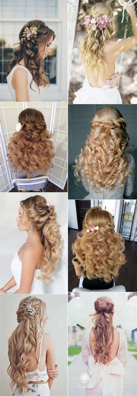 Wedding Hairstyles Half Up Tutorials by Best Hair Style For 40 Stunning Half Up Half