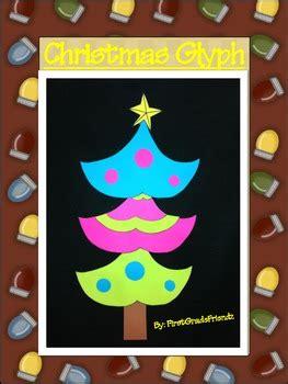 christmas tree fun glyph by firstgradefriendz teachers
