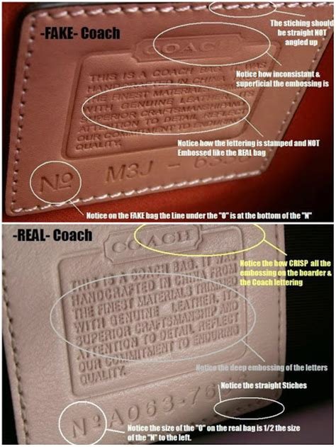 How To If Your Handbag Is Real Or by How To Spot A Coach Bag Pictures And Here