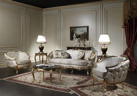 Classic Living Room Made In Italy Venezia Vimercati Classic Italian Living Room Furniture