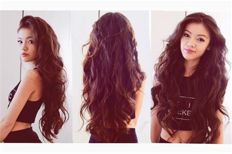 wavy hairstyles how to do it my everyday hair heatless wavy hair youtube