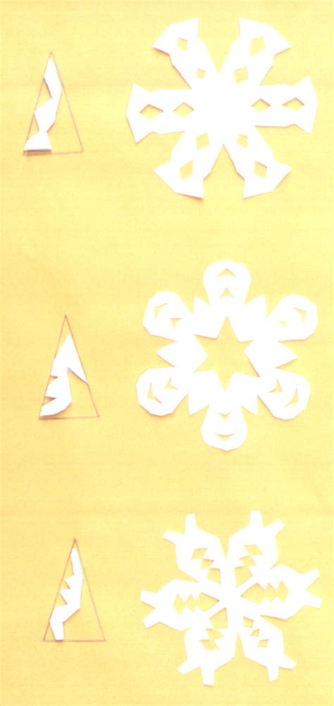 Make A Snowflake With Paper - paper snowflakes international visual