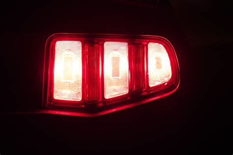 2010 ford mustang lights