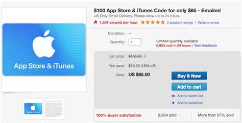 Itunes Vs App Store Gift Card - deal alert get 100 itunes app store gift card for 85 limited time only