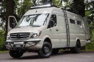 Mercedes Sprinter Rv For Sale Valhalla 4x4 Mercedes Sprinter Mobile Home By Outside