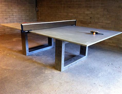 Dining Table Tennis Ping Pong Dining Table Modern Tables By Dwconcrete
