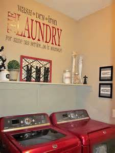 Laundry Room Decorations Adorable Antics Laundry Room Decorations On No Budget