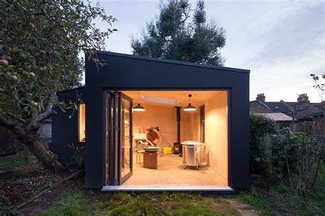 grey griffiths architects completes garden studio from