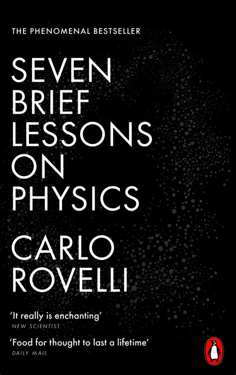 seven brief lessons on 0141981725 seven brief lessons on physics by rovelli carlo 9780141981727 brownsbfs