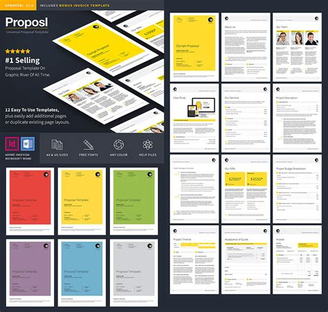 layout background proposal 15 best business proposal templates for new client projects