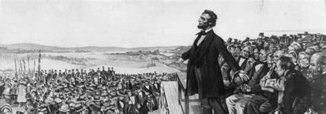 lincoln and gettysburg address the gettysburg address civil war trust