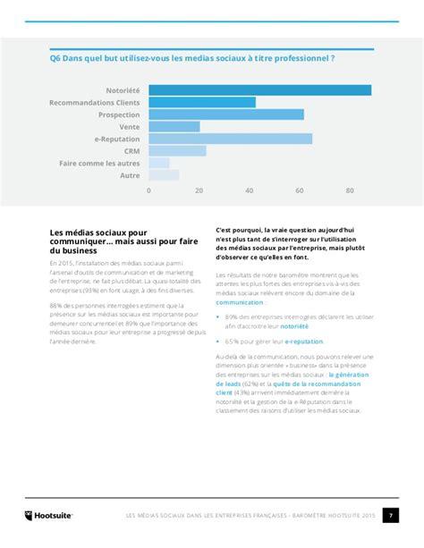 bã ro les m 233 dias sociaux dans les entreprises fran 231 aises