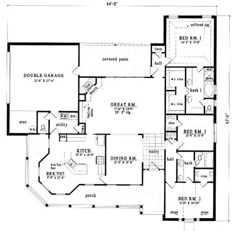 westfield 2194 square foot two story floor plan country style house plans 2194 square foot home 1