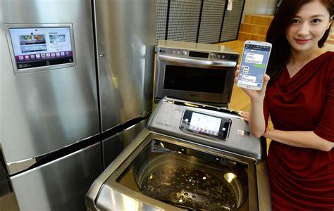 smart kitchen appliances lg smart appliances creep closer to connected us homes cnet