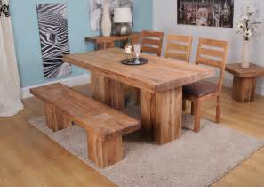 Solid Wood Dining Room Tables by Solid Wood Dining Furniture Ward Log Homes
