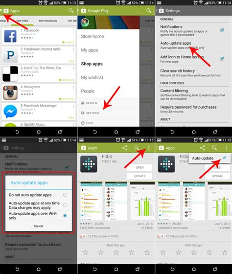 how do you update apps on android how to enable disable auto update android apps