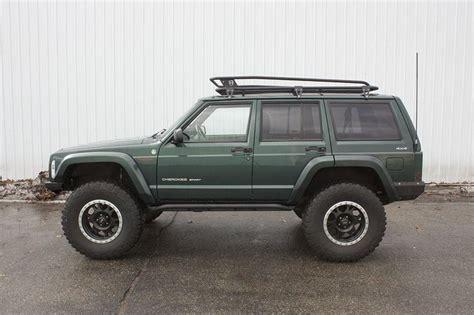 jeep cherokee xj sunroof jcroffroad prerunner roof rack jeep cherokee xj 84 01