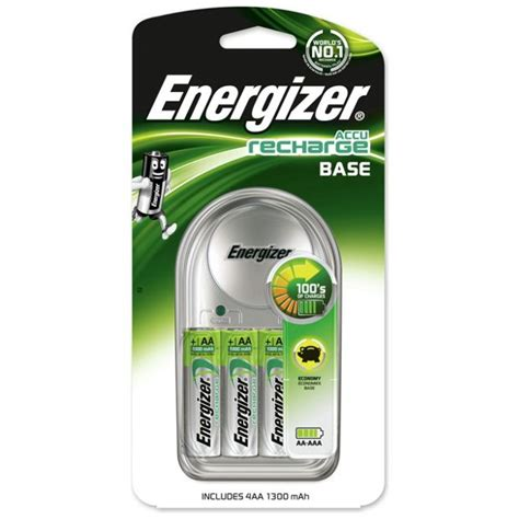 Baterai Charger Energizer buy energizer value battery charger with 4 x aa batteries