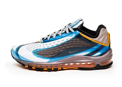 Nike Air Max 200 Blue Black by Nike Air Max Deluxe Og Colorway Photo Blue Wolf Grey Orange Peel Black Sneaker
