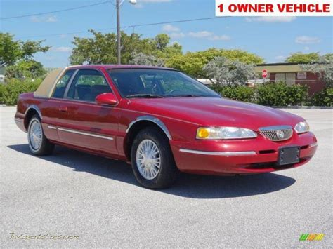 how does cars work 1996 mercury cougar electronic valve timing 1996 mercury cougar xr7 in laser red tinted metallic 626394 jax sports cars cars for sale