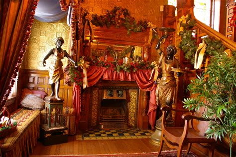 christmas decorated homes inside christmas at the molly brown house museum molly brown