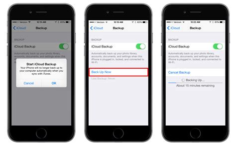 iphone backup how to enable and trigger icloud backups in ios 8