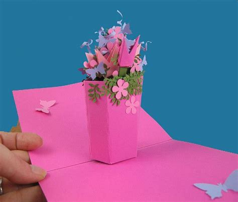 pop up card diy template 23 best pop up books images on papercraft pop
