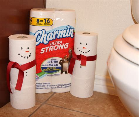 What Company Makes Charmin Toilet Paper - spoil your company with charmin snowman craft my