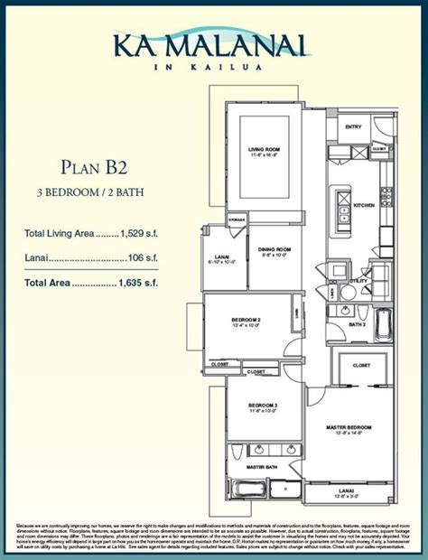 3 bedroom condo floor plans ka malanai in kailua new condos update 3 bedroom floor plan